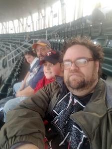 Thomas attended Minnesota Twins vs. Toronto Blue Jays - MLB on May 1st 2018 via VetTix