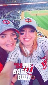 Bri attended Minnesota Twins vs. Toronto Blue Jays - MLB on May 1st 2018 via VetTix