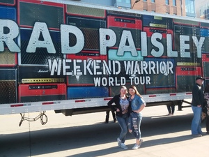 Christopher attended Brad Paisley - Weekend Warrior World Tour With Dustin Lynch, Chase Bryant and Lindsay Ell on Apr 26th 2018 via VetTix