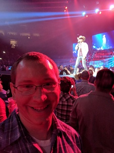 Ted attended Brad Paisley - Weekend Warrior World Tour With Dustin Lynch, Chase Bryant and Lindsay Ell on Apr 26th 2018 via VetTix