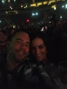 Krystal attended Brad Paisley - Weekend Warrior World Tour With Dustin Lynch, Chase Bryant and Lindsay Ell on Apr 26th 2018 via VetTix