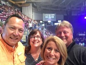 William attended Little Big Town - the Breakers Tour With Kacey Musgraves and Midland on May 3rd 2018 via VetTix