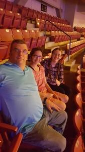 thomas attended Little Big Town - the Breakers Tour With Kacey Musgraves and Midland on May 3rd 2018 via VetTix