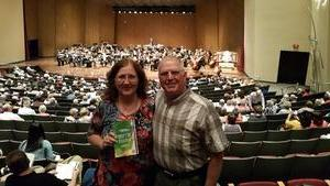 Mark and Shirley attended Celebrating Bernstein - Presented by the Lexington Philharmonic on May 19th 2018 via VetTix