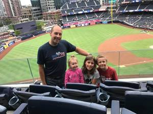 Kevin attended San Diego Padres vs. Miami Marlins - MLB on May 30th 2018 via VetTix