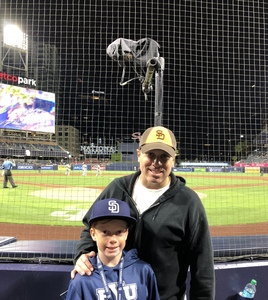 Daniel attended San Diego Padres vs. Miami Marlins - MLB on May 30th 2018 via VetTix