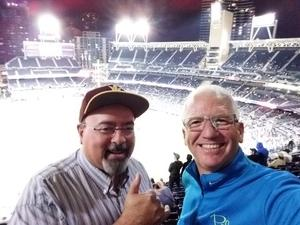 David attended San Diego Padres vs. Miami Marlins - MLB on May 30th 2018 via VetTix