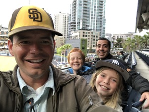 Erik attended San Diego Padres vs. Miami Marlins - MLB on May 30th 2018 via VetTix