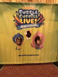 Brandon attended Bubble Guppies Live - Evening Show on Apr 28th 2018 via VetTix