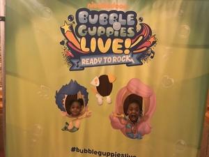 April attended Bubble Guppies Live - Evening Show on Apr 28th 2018 via VetTix