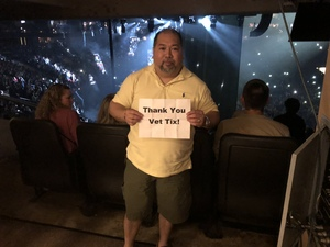 evan attended Wmmr 50th Birthday Concert: Bon Jovi This House is not for Sale Tour on May 3rd 2018 via VetTix