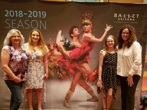 Tamara attended Ballet Arizona Presents All Balanchine 2018 - Friday Show on May 4th 2018 via VetTix