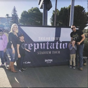 Enrique attended Taylor Swift Reputation Stadium Tour on May 11th 2018 via VetTix