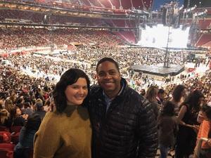 Brandon attended Taylor Swift Reputation Stadium Tour on May 11th 2018 via VetTix