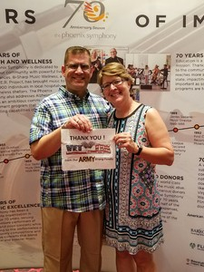 Robert attended Live From Broadway Performed by the Phoenix Symphony - Saturday on May 19th 2018 via VetTix