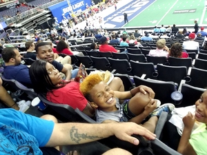 Michael Clark attended Washington Valor vs. Albany Empire - AFL on May 11th 2018 via VetTix