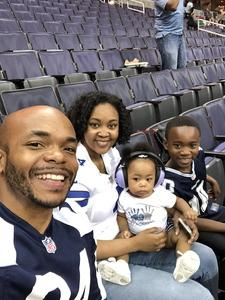 Arthur attended Washington Valor vs. Albany Empire - AFL on May 11th 2018 via VetTix