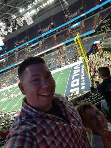 Shane attended Washington Valor vs. Albany Empire - AFL on May 11th 2018 via VetTix