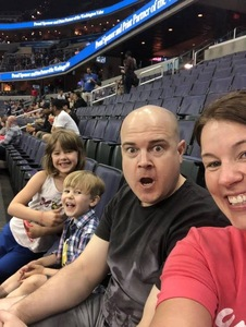 Britton attended Washington Valor vs. Albany Empire - AFL on May 11th 2018 via VetTix
