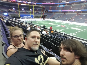 Shawn attended Washington Valor vs. Albany Empire - AFL on May 11th 2018 via VetTix