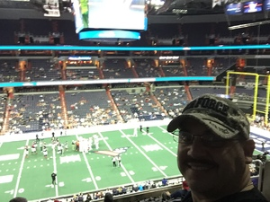David attended Washington Valor vs. Albany Empire - AFL on May 11th 2018 via VetTix