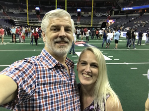 Sean and Millie attended Washington Valor vs. Albany Empire - AFL on May 11th 2018 via VetTix