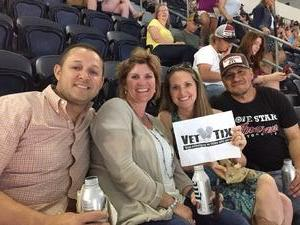 James attended Kenny Chesney: Trip Around the Sun Tour With Thomas Rhett and Old Dominion on May 19th 2018 via VetTix