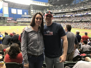 Louis attended Milwaukee Brewers vs. St. Louis Cardinals - MLB on May 29th 2018 via VetTix