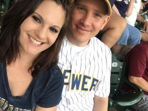 Eric attended Milwaukee Brewers vs. St. Louis Cardinals - MLB on May 29th 2018 via VetTix