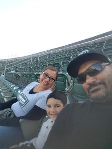 Calvin attended Oakland Athletics vs. Baltimore Orioles - MLB on May 4th 2018 via VetTix