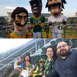 Bobby attended Oakland Athletics vs. Baltimore Orioles - MLB on May 4th 2018 via VetTix