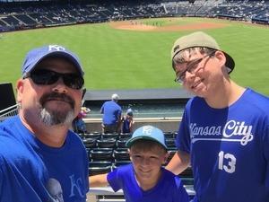 Bradley attended Kansas City Royals vs. Oakland Athletics - MLB on Jun 3rd 2018 via VetTix