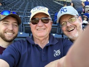 David attended Kansas City Royals vs. Oakland Athletics - MLB on Jun 3rd 2018 via VetTix