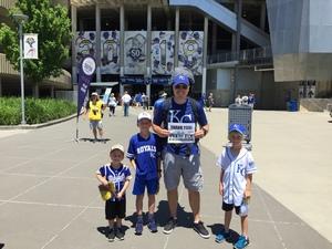 Matt attended Kansas City Royals vs. Oakland Athletics - MLB on Jun 3rd 2018 via VetTix
