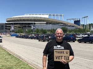 Eric L. attended Kansas City Royals vs. Oakland Athletics - MLB on Jun 3rd 2018 via VetTix