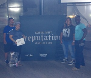 Kevin and Family attended Taylor Swift Reputation Stadium Tour on May 8th 2018 via VetTix
