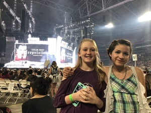 Brandon attended Taylor Swift Reputation Stadium Tour on May 8th 2018 via VetTix