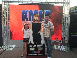 Mark attended Taylor Swift Reputation Stadium Tour on May 8th 2018 via VetTix