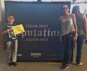 Jeffrey attended Taylor Swift Reputation Stadium Tour on May 8th 2018 via VetTix