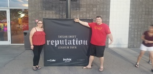 Brent attended Taylor Swift Reputation Stadium Tour on May 8th 2018 via VetTix