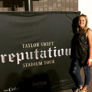 Jeremy attended Taylor Swift Reputation Stadium Tour on May 8th 2018 via VetTix