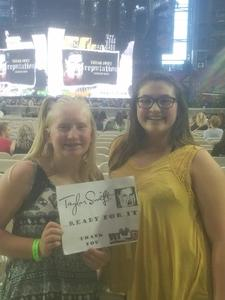 Michelle attended Taylor Swift Reputation Stadium Tour on May 8th 2018 via VetTix