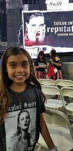 Danny attended Taylor Swift Reputation Stadium Tour on May 8th 2018 via VetTix