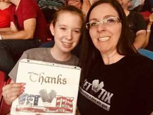 Emery attended Taylor Swift Reputation Stadium Tour on May 8th 2018 via VetTix
