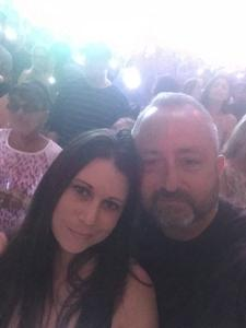 William attended Taylor Swift Reputation Stadium Tour on May 8th 2018 via VetTix