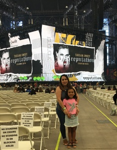 Yvonne attended Taylor Swift Reputation Stadium Tour on May 8th 2018 via VetTix