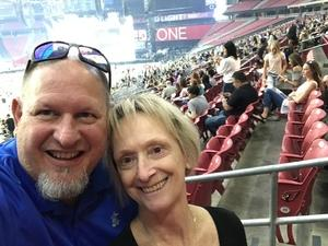 Barry attended Taylor Swift Reputation Stadium Tour on May 8th 2018 via VetTix