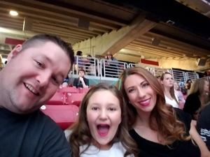 Terry attended Taylor Swift Reputation Stadium Tour on May 8th 2018 via VetTix