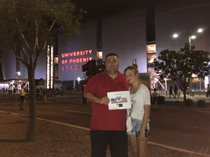 Lance attended Taylor Swift Reputation Stadium Tour on May 8th 2018 via VetTix