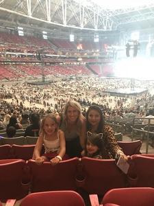 nohemi attended Taylor Swift Reputation Stadium Tour on May 8th 2018 via VetTix